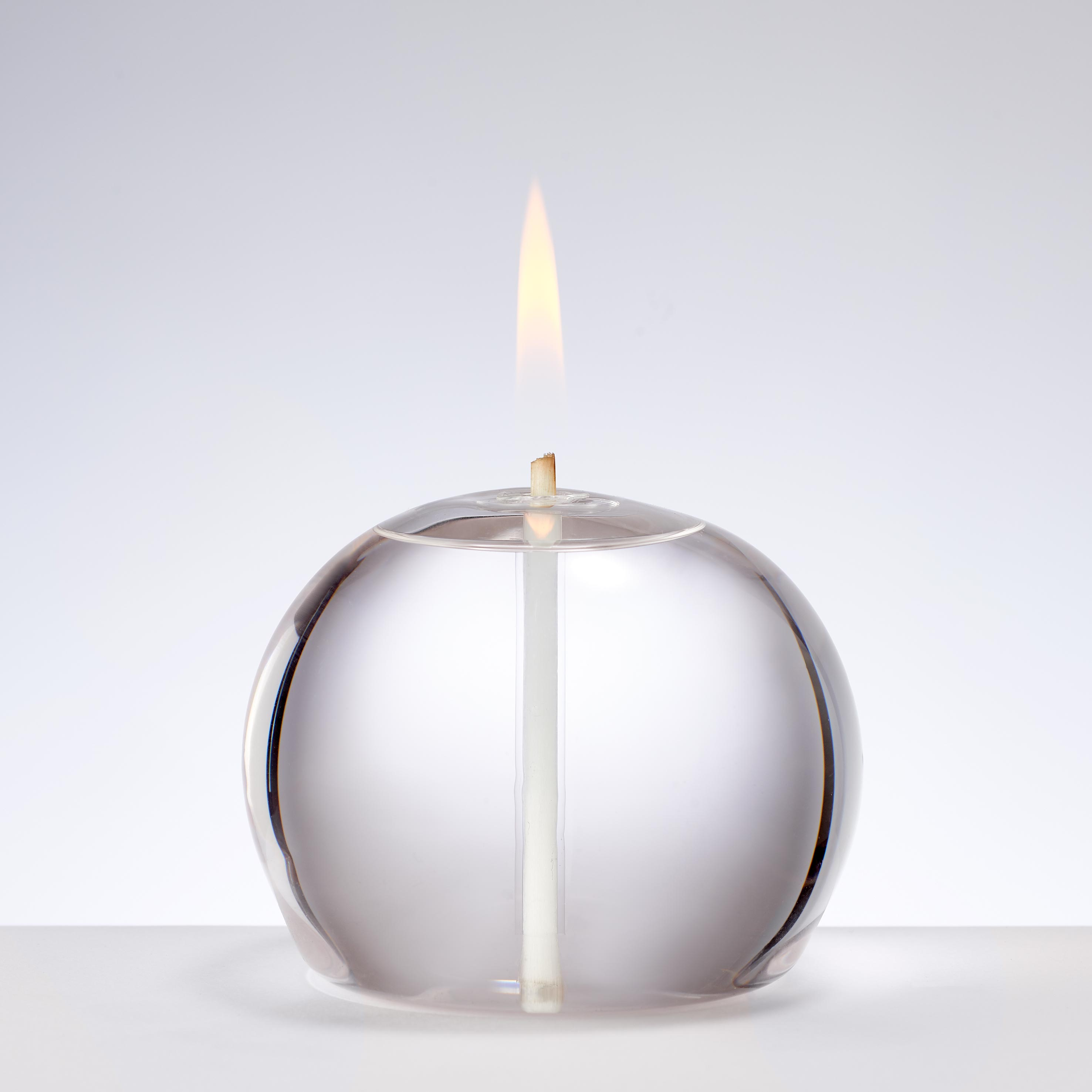 MEDIUM ROUND GLASS CANDLE