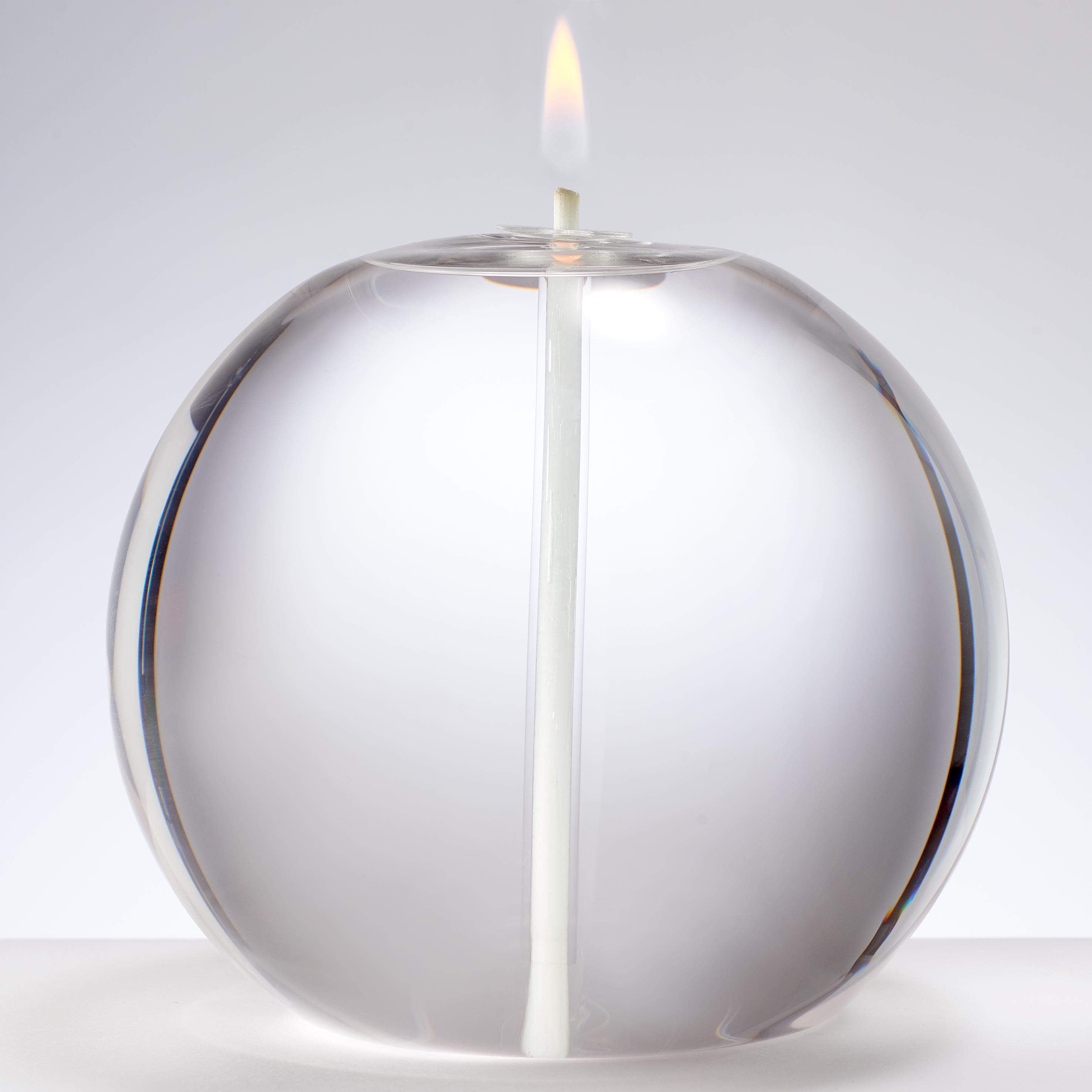 EXTRA LARGE ROUND GLASS CANDLE